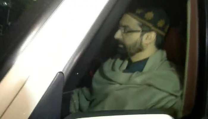 Hurriyat chairman Mirwaiz Umar Farooq appear before NIA in connection with terror funding case