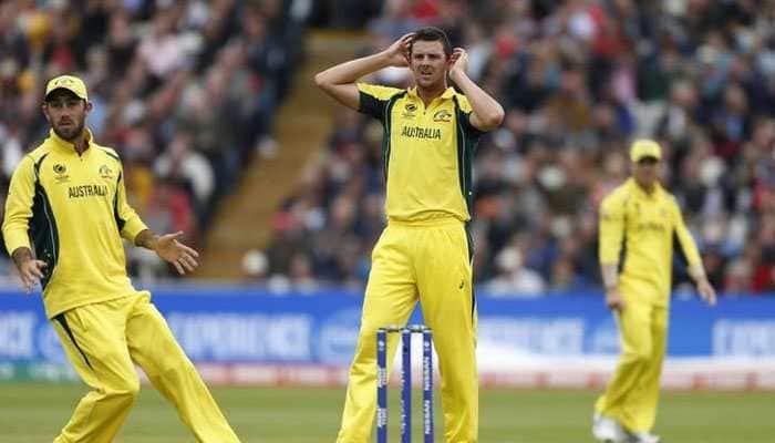 Fit-again Josh Hazlewood 'nervous' over Australia's World Cup squad selection