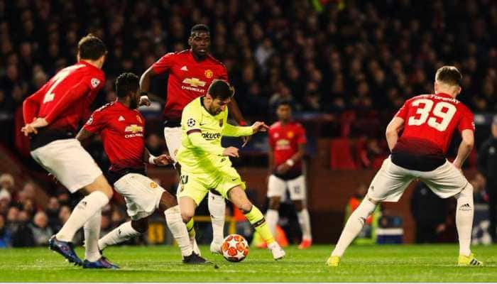 Luke Shaw own goal gives Barcelona advantage over tame Manchester United