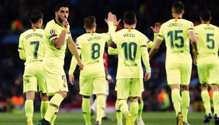 Gerard Pique praises Barcelona's defensive steel in narrow 2-0 win over Manchester United