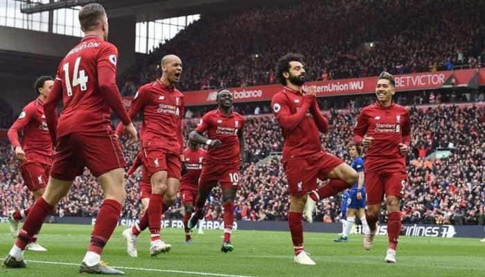 Mohamed Salah screamer gives Liverpool vital win against Chelsea