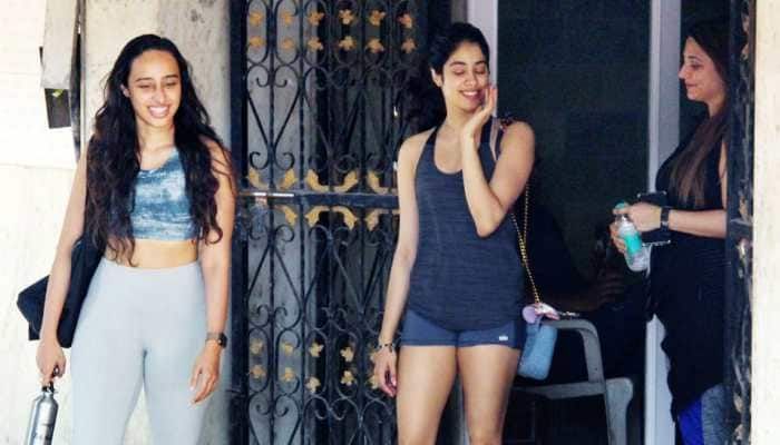 Janhvi Kapoor's 'gym outfit of the day' gives major summer vibes—See pics