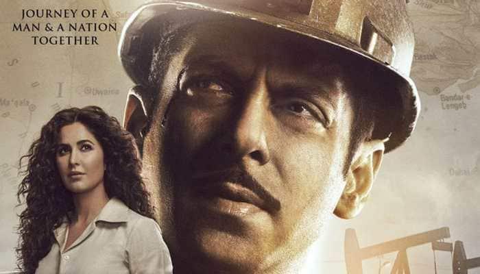Salman Khan-Katrina Kaif invoke love for nation in new 'Bharat' poster