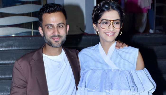 Image result for Love is tying shoelaces: Sonam, Anand show how