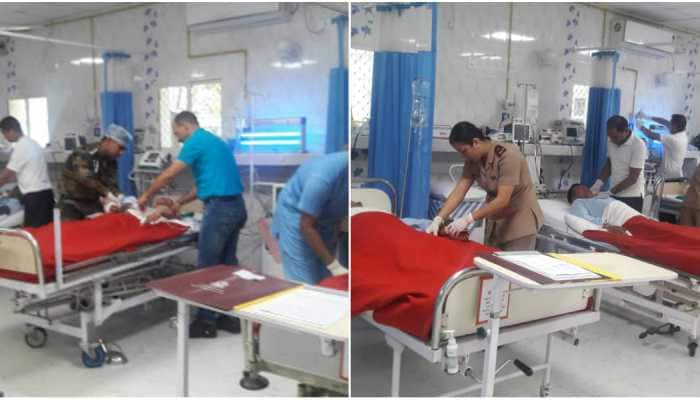 Polling officials meet with an accident in Assam, army comes to rescue