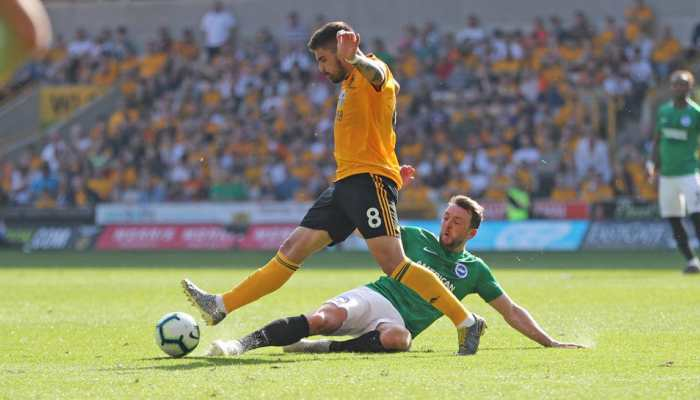 Battling Brighton & Hove Albion secure vital draw at Wolves
