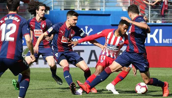 La Liga: Thomas Lemar leaves it late to give Atletico Madrid win at Eibar