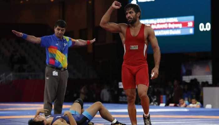 Bajrang Punia, Praveen Rana enter final of Asian Wrestling Championship