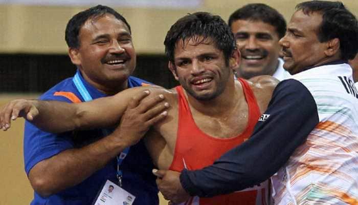 Amit Dhankar settles for silver, Rahul Aware for bronze at Asian Wrestling Championships 2019
