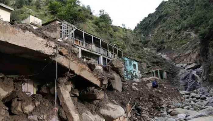 Five killed, 9 injured as landslide hit minibus in J&K's Doda