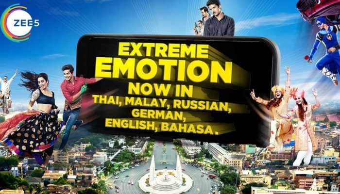 ZEE5 Global unveils its content in 5 New International Languages