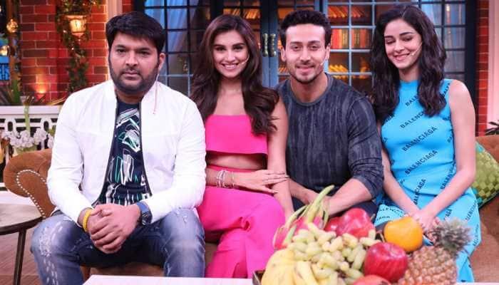 Tiger Shroff, Tara Sutaria and Ananya Panday promote 'SOTY 2' on Kapil Sharma's comedy show—See pics