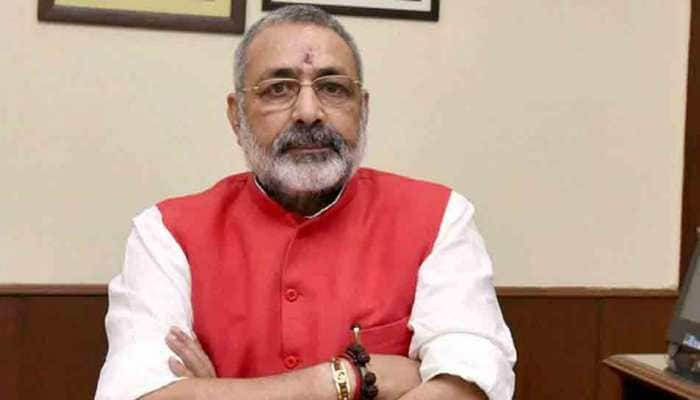 Complaint filed against Giriraj Singh over controversial 'green flags' remarks