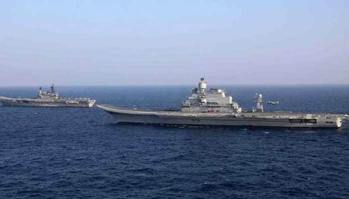 Fire on board aircraft carrier INS Vikramaditya; Lt Cdr DS Chauhan dies trying to douse the blaze