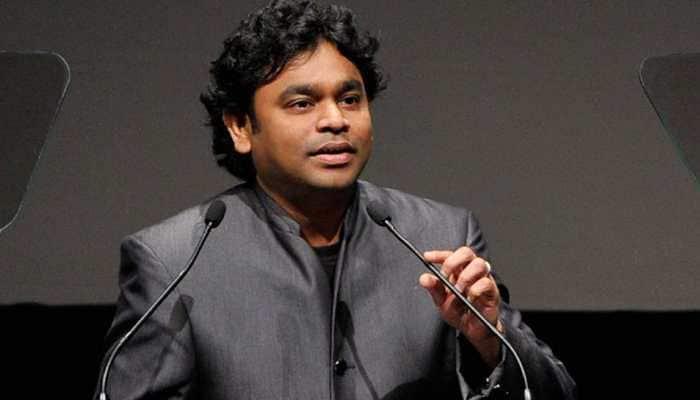 AR Rahman introduces lead actor of '99 Songs'