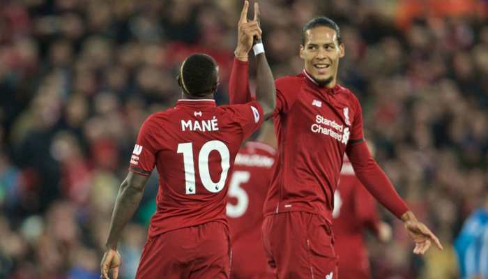 EPL: Mohamed Salah and Sadio Mane send Liverpool top of the table