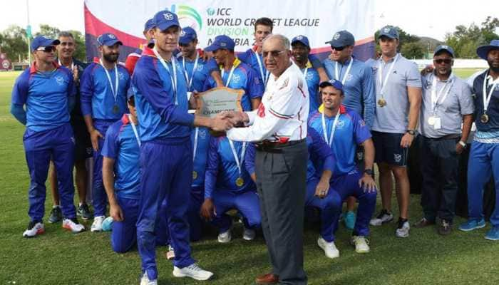Namibia crowned ICC World Cricket League Division 2 champions with win over Oman