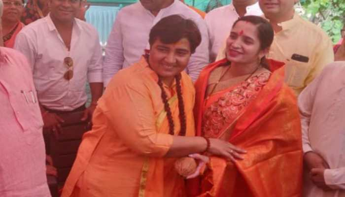 A tale of two names: Pragya Thakur pulls out of election race after meeting Pragya Thakur