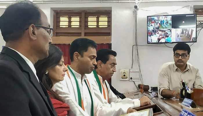 Historic battle in MP's Chhindwara: Kamal Nath debuts in Assembly poll, son Nakul in Lok Sabha election