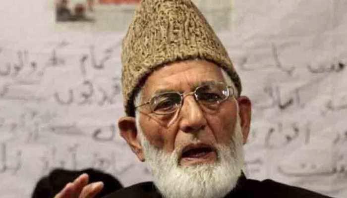 Separatist leader Syed Ali Shah Geelani hospitalised