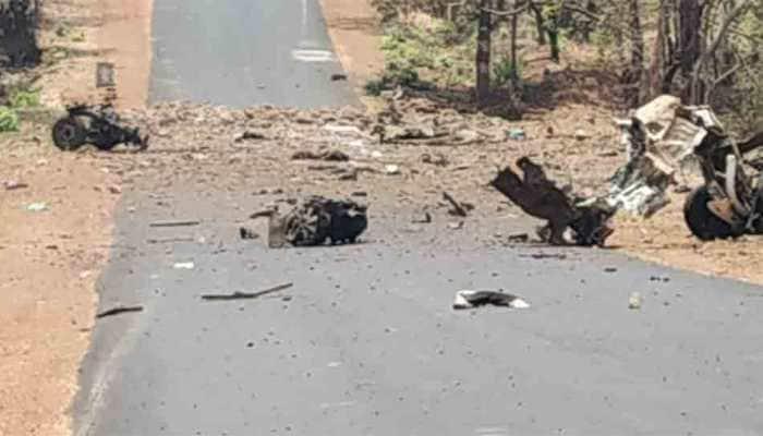 15 QRT commandos martyred in Maharashtra's Gadchiroli as Naxals blow vehicle