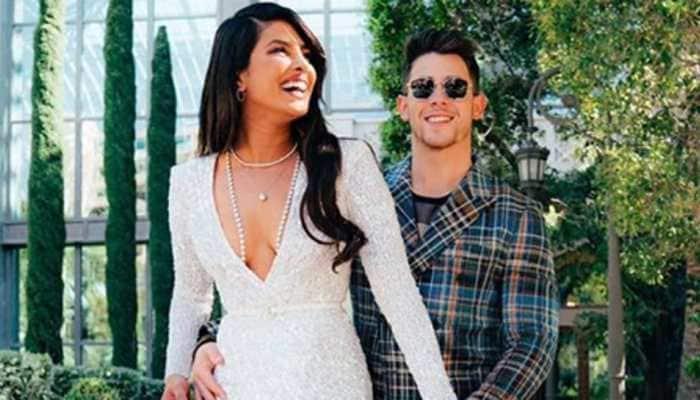 Priyanka Chopra shines like a diamond in stunning gown, hubby Nick Jonas shares boomerang video