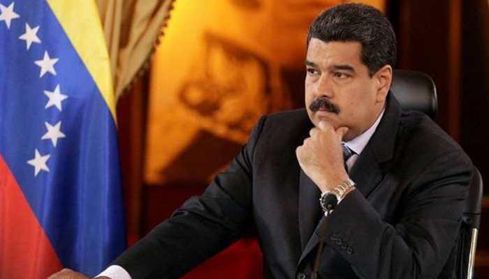 Venezuela's Maduro seeks to display military loyalty in political crisis
