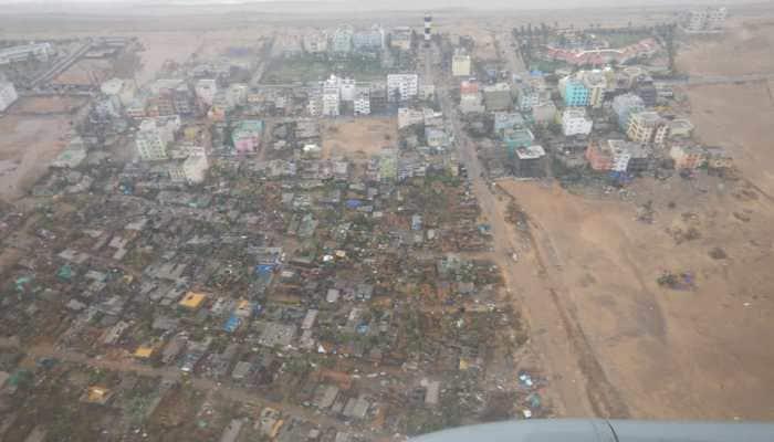 Cyclone Fani: Aerial survey shows massive devastation around Odisha's Puri