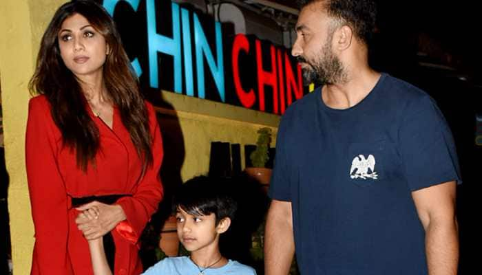 Shilpa Shetty enjoys dinner date with family in Juhu—Pics