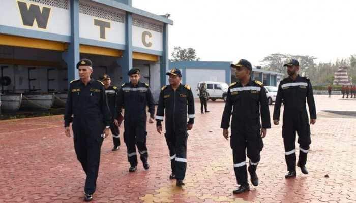 Cyclone Fani: Indian Navy Chief-designate Vice Admiral Karambir Singh visits Odisha's INS Chilka to review situation