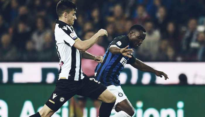 Serie-A: Inter Milan held to another stalemate away to struggling Udinese