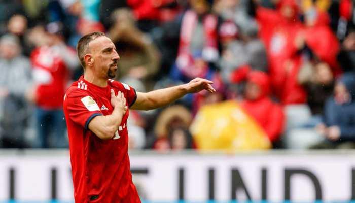 Bundesliga: Franck Ribery to leave Bayern Munich at the end of the season