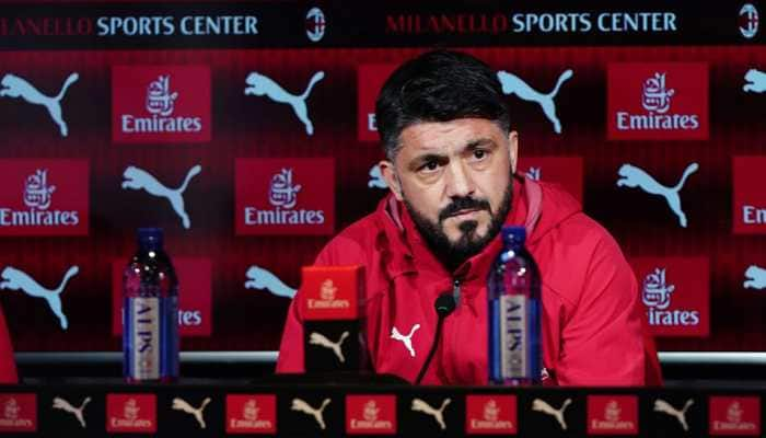 AC Milan coach Gennaro Gattuso insists no decision has been made on his future