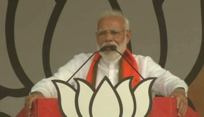 No bomb blasts after 2014; we attacked terrorists in Pakistan: PM Narendra Modi in Azamgarh rally