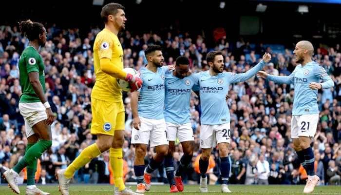 Manchester City on brink of Premier League title as epic race reaches climax