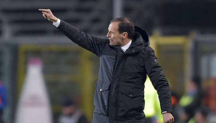 Juventus coach Massimiliano Allegri amused by talk of his departure