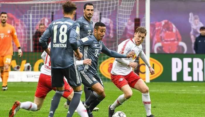 Bundesliga: Bayern Munich miss chance to seal title after RB Leipzig stumble