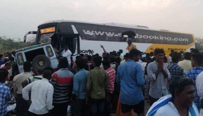 PM Narendra Modi condoles deaths in Andhra Pradesh road accident