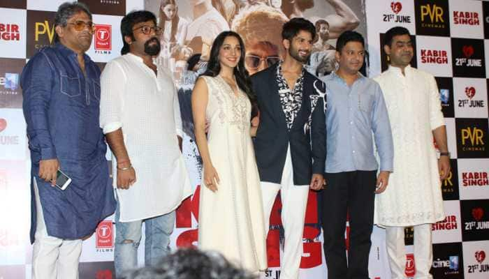 Shahid Kapoor, Kiara Advani turn heads at 'Kabir Singh' trailer launch - See pics