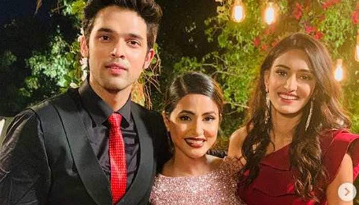 Parth Samthaan posts an emotional note for Hina Khan as she bids goodbye to Kasautii Zindagii Kay- See pic