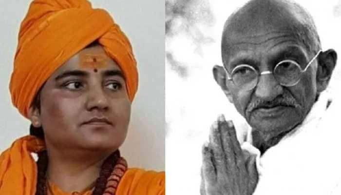 BJP, Congress spar as Mahatma Gandhi, Nathuram Godse take centrestage in final poll battle