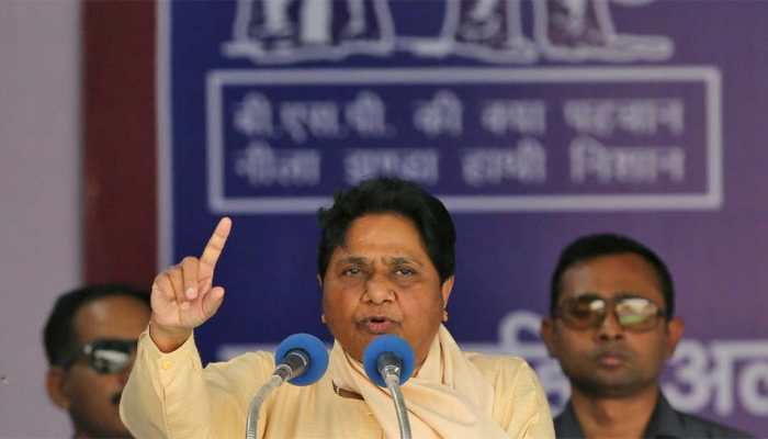 BJP seeks action against Mayawati for poll code violation, writes to EC