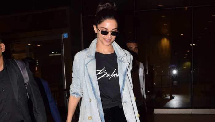 Deepika Padukone returns to Mumbai after attending Cannes 2019—Pics