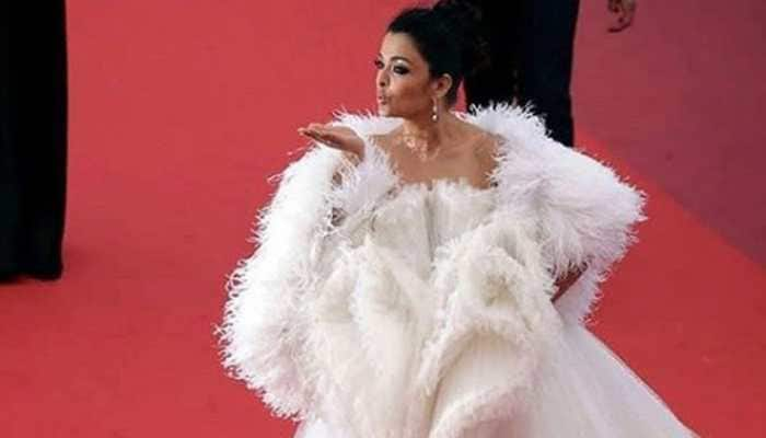 Aishwarya Rai Bachchan slays in a dramatic white gown at Cannes red carpet—See pics