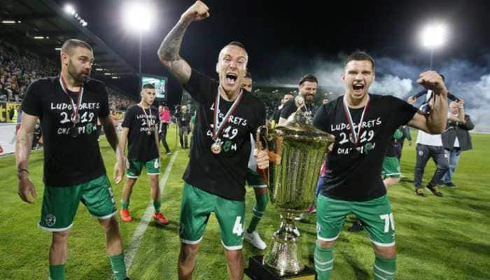 Ludogorets win eighth Bulgarian title as opponents field weakened team