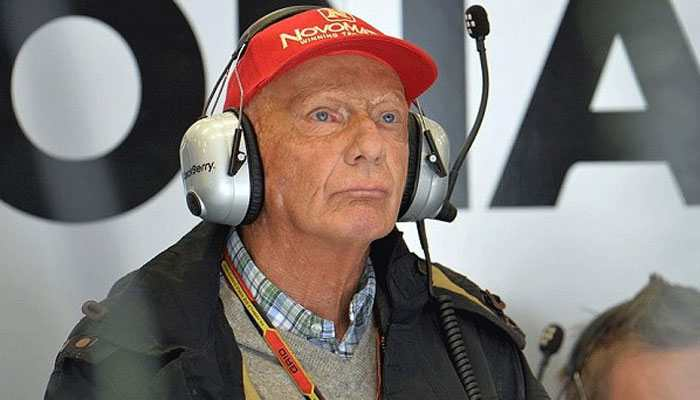 Formula 1: Mercedes to keep permanent red star for Niki Lauda