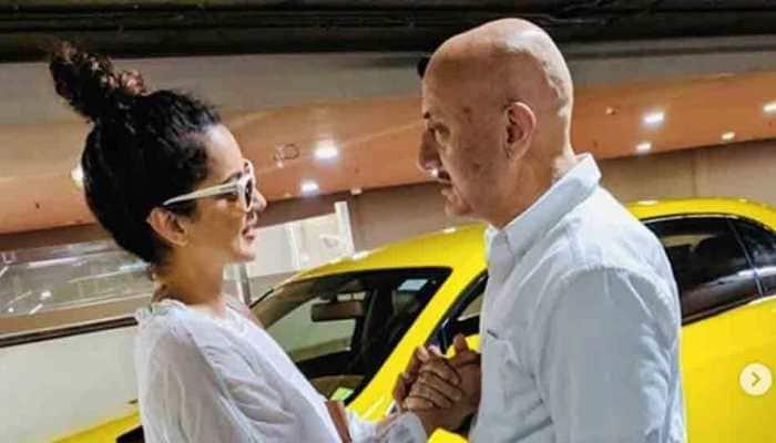 Meeting Anupam Kher ji always makes my day: Kangana Ranaut