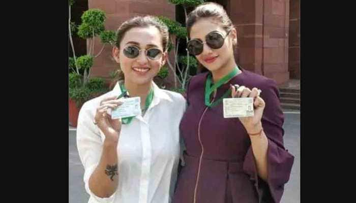 Trinamool MPs Mimi Chakraborty, Nusrat Jahan trolled for 'dressing up' for Parliament