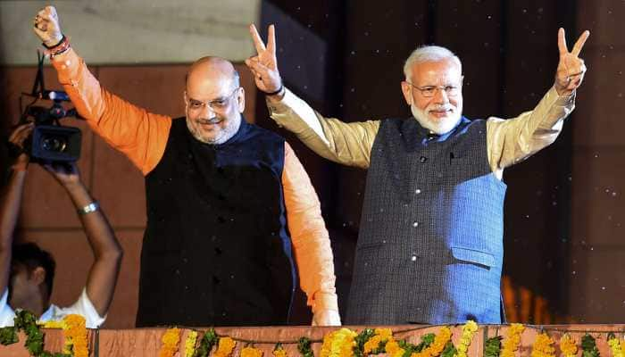 Amit Shah meets PM Narendra Modi ahead of swearing-in ceremony