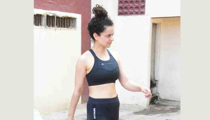 Kangana Ranaut looks fit and fab in all-black avatar — Pics